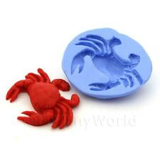 Dolls House Miniature Reusable Large Crab Silicone Mould