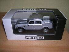 Whitebox Lamborghini LM 002 LM002 (1986) silber silver 1:43
