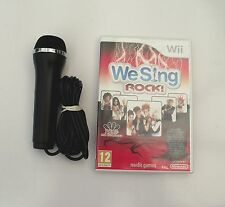 WE SING ROCK AND 1 KARAOKE MICROPHONE WII PAL