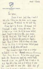 Lettera di un Allievo Scuola Truppe Meccanizzate e Corazzate in Caserta 1900