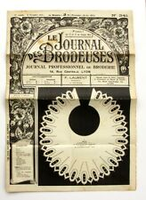 Le Journal des Brodeuses n°341 - 1931 - Embroideries magazine - Monograms
