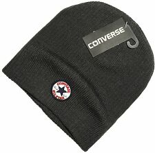 CLEARANCE! Converse Mens Chuck Taylor All Star Stretch Beanie Hat Grey One Size