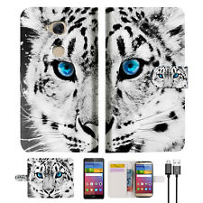 Leopard Wallet Case Cover For Huawei Ascend GR5-- A013