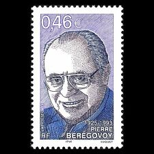France 2003 - Death of Politician Pierre Beregovoy Famous People - Sc 2941 MNH