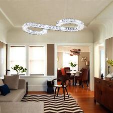 Illuminazione lampadario di cristallo Lampada a sospensione LED Home Decor EU