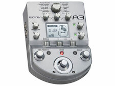 Zoom A3 Acoustic Guitar Pre-Amp & Effects