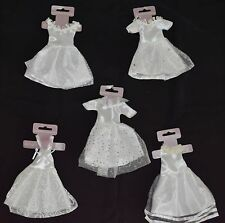 Wedding Dress Decorations and Gift Card Holders Set of 9