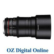 New Samyang 135mm T2.2 ED UMC VDSLR Cine 135 Lens for Nikon 1 Yr Au Wty