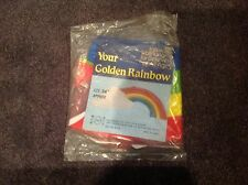 RAINBOW INFLATABLE 24 IN inflate blowup play toys vintage 1980