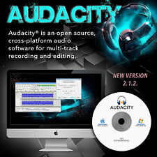 Audacity (Pro Audio Music Editing and Recording Software) for PC/Mac