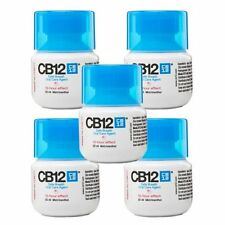 5 x CB12 COLLUTORIO orale / sciacquare ORIGINALE MENTOLO 50ML TRAVEL SIZE (250ml) totale