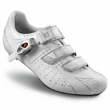 DIADORA TORNADO SPD-SL automatici Road Bike / Bicicletta / Cycle SHOES-euro 43-Bianco