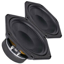 "Pair Faital Pro 6FE100 8ohm 6"" Woofer Midrange Midbass Replacement speaker 200W"