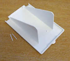 CARAVAN BOAT MAINS INLET/OUTLET BOX SPARE FLAP COVER WHITE PO114F