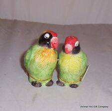 MWAH Parrots  Salt & Pepper Set magnetic