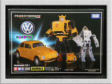 Authentic Takara Tomy Transformers Masterpiece MP-21 G1 Bumblebee Spike in USA
