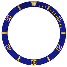 Bezel Insert fits ROLEX Submariner Blue Gold Number 16808-2