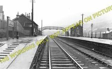 Brithdir Railway Station Photo. Bargoed - Tir Phil & New Tredegar. Rhymney. (1)