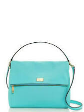 Kate Spade Bag WKRU2916 Highland Place Medium Maria Giverny Blue Agsbeagle