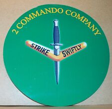 Australian Army/ 2 Commando Company vinyl sticker personalised free.