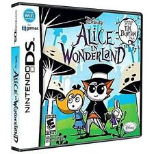 DISNEY ALICE IN WONDERLAND DS! DSI, LITE, XL, 3DS! FAMILY CLASSIC GAME NIGHT!