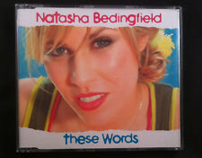 Natasha Bedingfield - These Words - CD Single - Australia - 4 Tracks