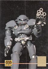 STAR WARS GALAXY SERIES 3 1995 TOPPS LUCASARTS FOIL CARD #L3 DARK TROOPER