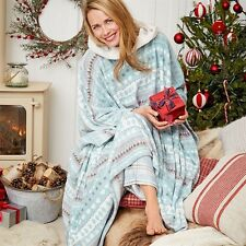 AVON AVA BEAR  SNUGGLE PONCHO NIGHTWEAR DRESSING GOWN XMAS ONE SIZE UP TO 22 NEW