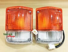 Front Corner Turn Signal Lights For Toyota Land Cruiser FJ60 HJ60 FJ65 BJ60 BJ61