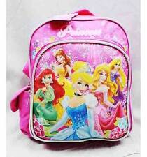 "NWT Princess 10"" Mini Backpack School Bag for Toddlers Disney- Cinderella Ariel"