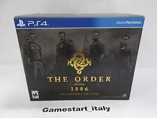 THE ORDER 1886 COLLECTOR'S EDITION - SONY PS4 - NUOVO NEW - NTSC VERSION