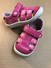 STRIDE RITE TULSI  Pink Leather Soft Bottom Sandals Toddler Girls' Shoes Size 5