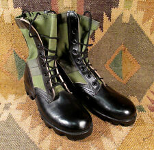 US military RO-SEARCH  jungle jump boots  NOS Green hot weather lace up SIZE 4R