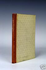 A Printer's Common-Place Book Edmund Thompson 1937 Hawthorn House Limited Rare