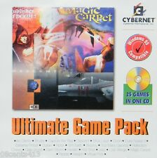 Ultimate Game Pack (Windows 95) 25 Games On One CD! Doom, Riptide, Pool & More!