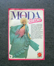 K918-Advertising Pubblicità-1984- BARBIE , MATTEL , MODA 1984