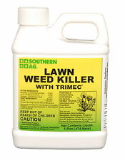 Lawn Weed Killer Trimec 1 Pint for Broadleaf Weeds - NOT FOR SALE TO: CA, MA, MN