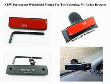 NEW Permanent Windshield Mount For The Valentine, V1 Radar Detector Buy It Now!.