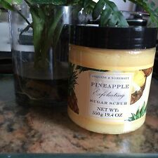ASQUITH & SOMERSET Pineapple EXFOLIATING SUGAR SCRUB 19.4 OZ