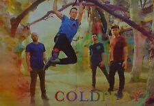 COLDPLAY - A3 Poster (ca. 42 x 28 cm) - Clippings Fan Sammlung NEU