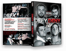 Official ROH Ring of Honor Defy or Deny 2 2013 Event DVD
