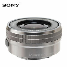 Sony SELP1650 E PZ 16-50mm F3.5-5.6 OSS E-Mount Zoom Lens  Silver (Bulk Package)