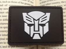 Righteous Optimus Prime Transformers USA ARMY MORALE BADGES 3D PVC VELCRO PATCH