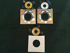 Lot of 3 Carpenters 45 Records (AM Records) Top Of The World & More