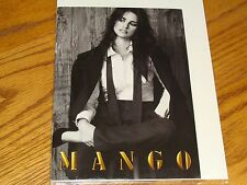 FINE ART PHOTOGRAPH MANGO ILLUSTRATED CATALOG FLYER PAMPHLET PENELOPE CRUZ