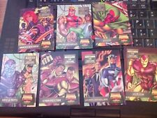 Marvel Overpower Mission Control The Crossing Set of 7 NrMint-Mint
