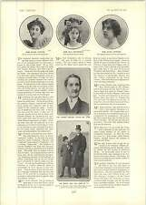 1902 Mr Ben Webster Claire Harford Oldest Actor Mr Doel