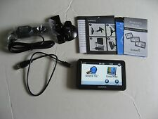 Garmin Nuvi 50LM Portable GPS Navigation W/Lifetime Maps/Accessories Bundle