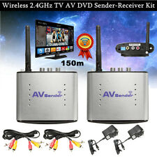 2.4GHz 150M/492ft AV Wireless Trasmettitore Ricevitore Sender Sharer Audio Video