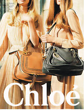 PUBLICITE ADVERTISING 035  2011  CHLOE  maroquinerie collection sacs